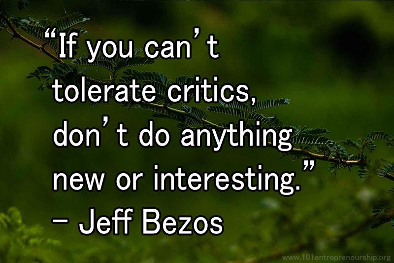 jeff bezos entrepreneur quotes